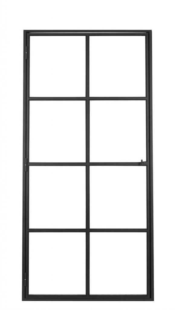 Ferro Elegance Black – 8 glasverdelingen