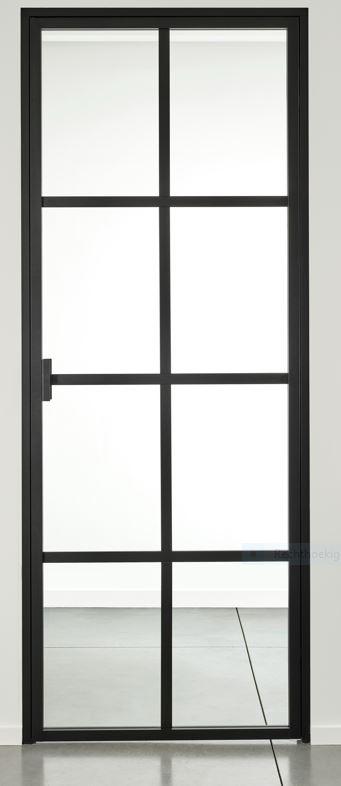 ALU URBAN deur – 8 glasverdelingen – dagmaat 2038×787